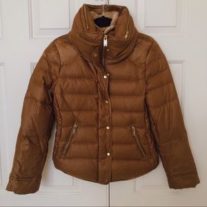 Zara Basic Down Puffer Jacket